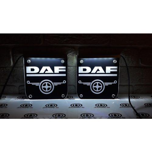 DAF  ablakdísz világító tábla párban