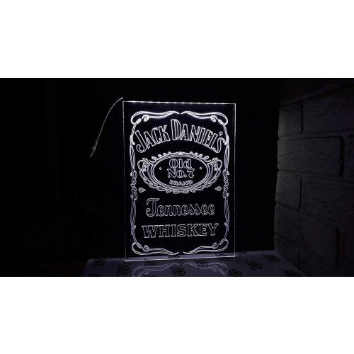 Jack Daniels világító tábla