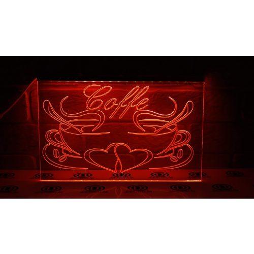 Coffe világító tábla