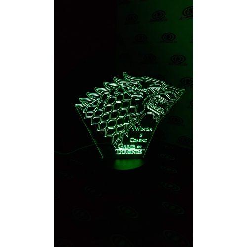 Game Of Thrones világító 3D tábla