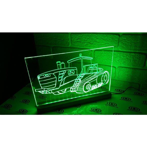 Jhon Deere  világító tábla
