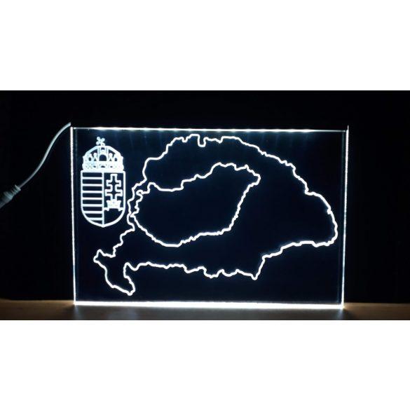 Magyarorszég világító tábla
