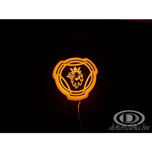 SCANIA világító embléma