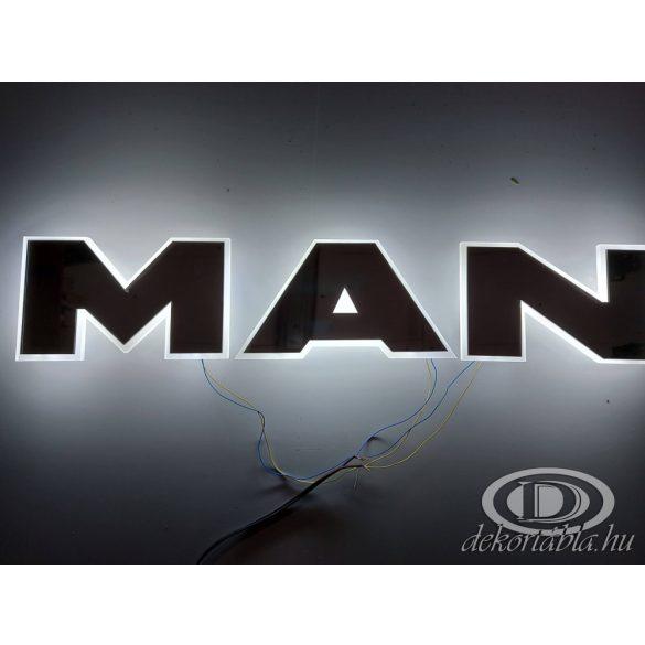 MAN világító felirat