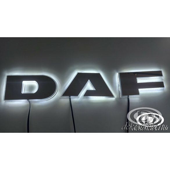 Világító DAF felirat