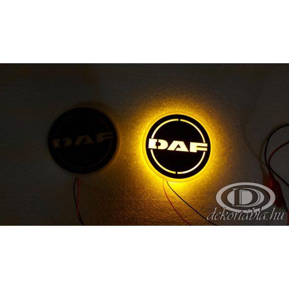 DAF világító embléma