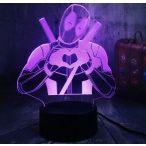 Deadpool világító 3D tábla