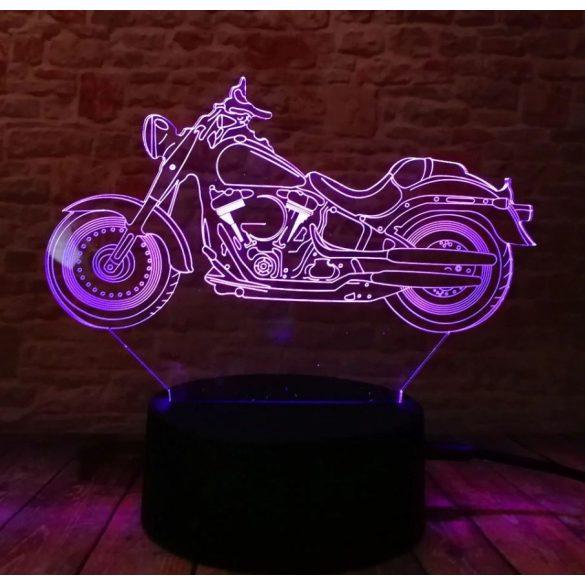 Chopper motor világító 3D tábla