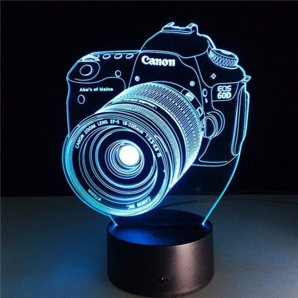 Canon fényképező világító 3D tábla