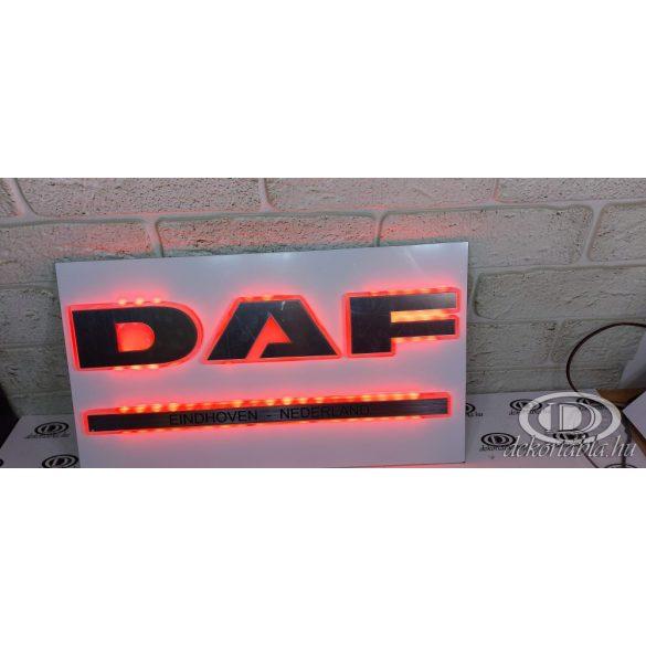 Fémhatású Világító tábla DAF