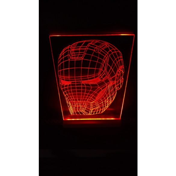 Iron Man világító tábla