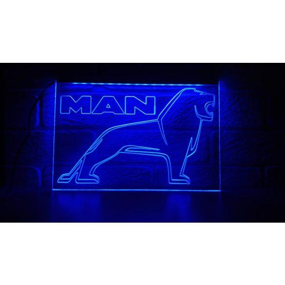 MAN világító tábla