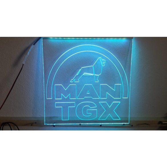 MAN TGX világító tábla
