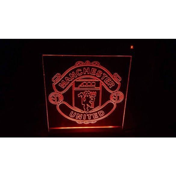Manchester United világító tábla