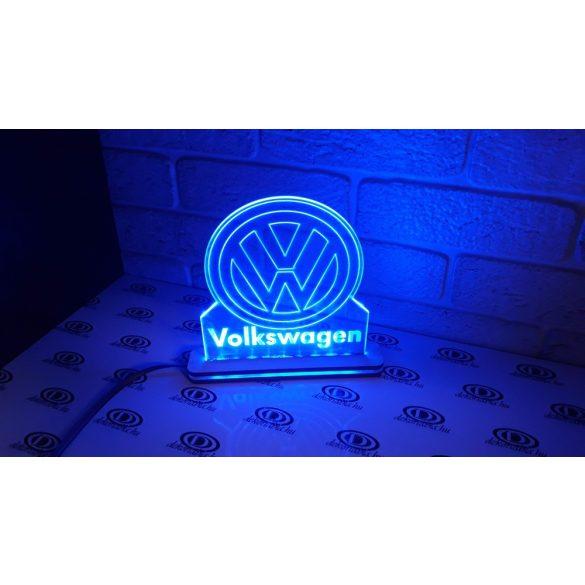 VW világító tábla